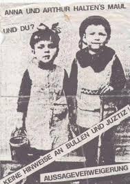 Anna und Arthur halten's Maul: Keine Hinweise bei Polizei und Justiz machen